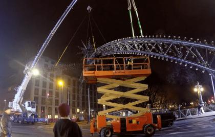 lichtbrücke düsseldorf videoproduktion werbevideo solingen graphlex